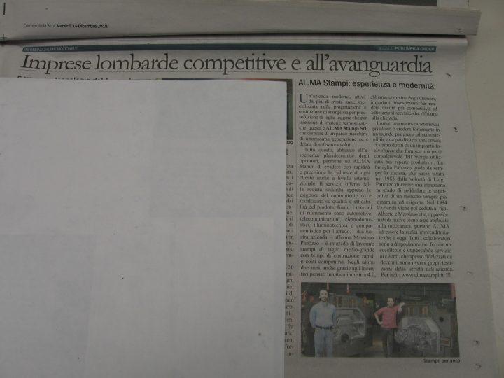 Imprese lombarde competitive e all'avanguardia