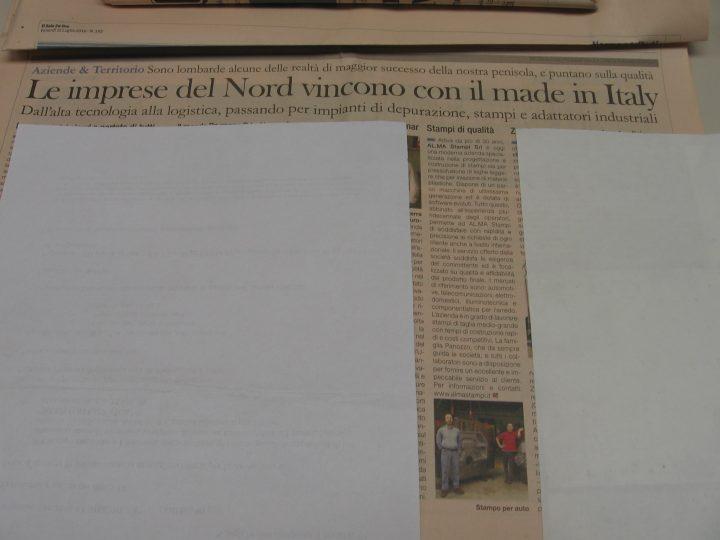 Le imprese del Nord vincono con il made in Italy